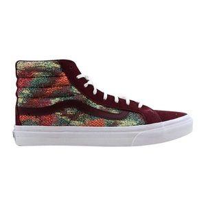 Vans High-Top Skate Shoes Slim Style Women's